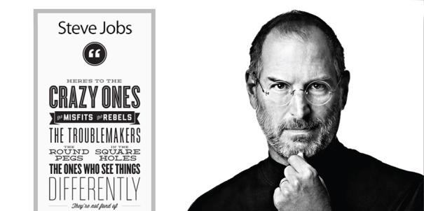 crazy ones Steve Jobs